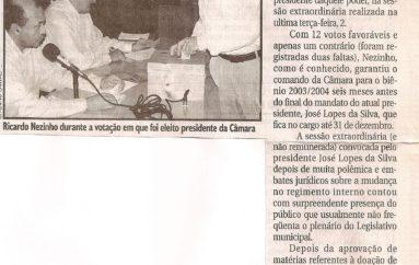 Vereadores elegem nova direção para Legislativo arapiraquense