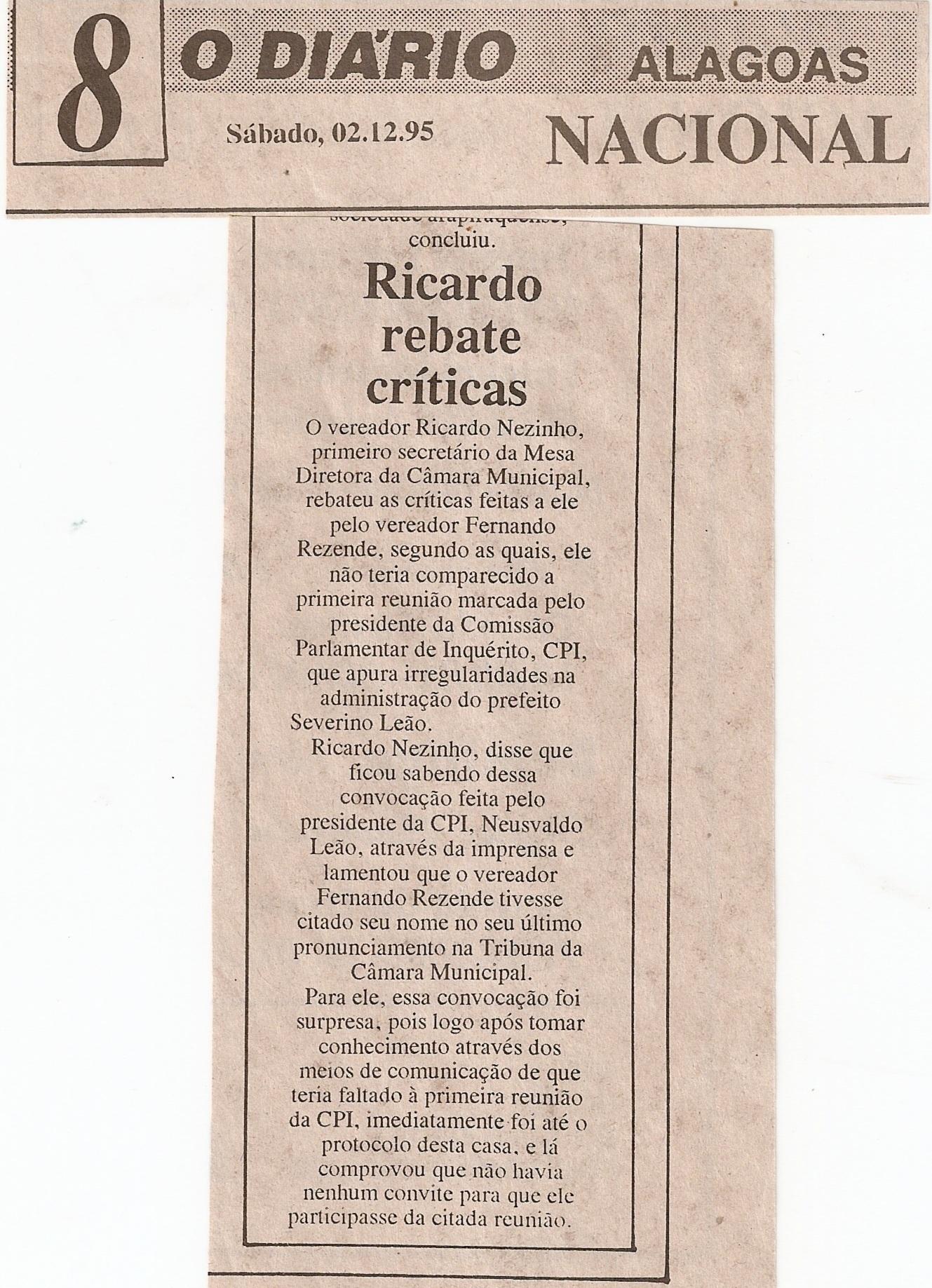 O Diario 02-12-95