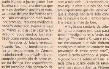 Atuação do Vereador Ricardo Nezinho
