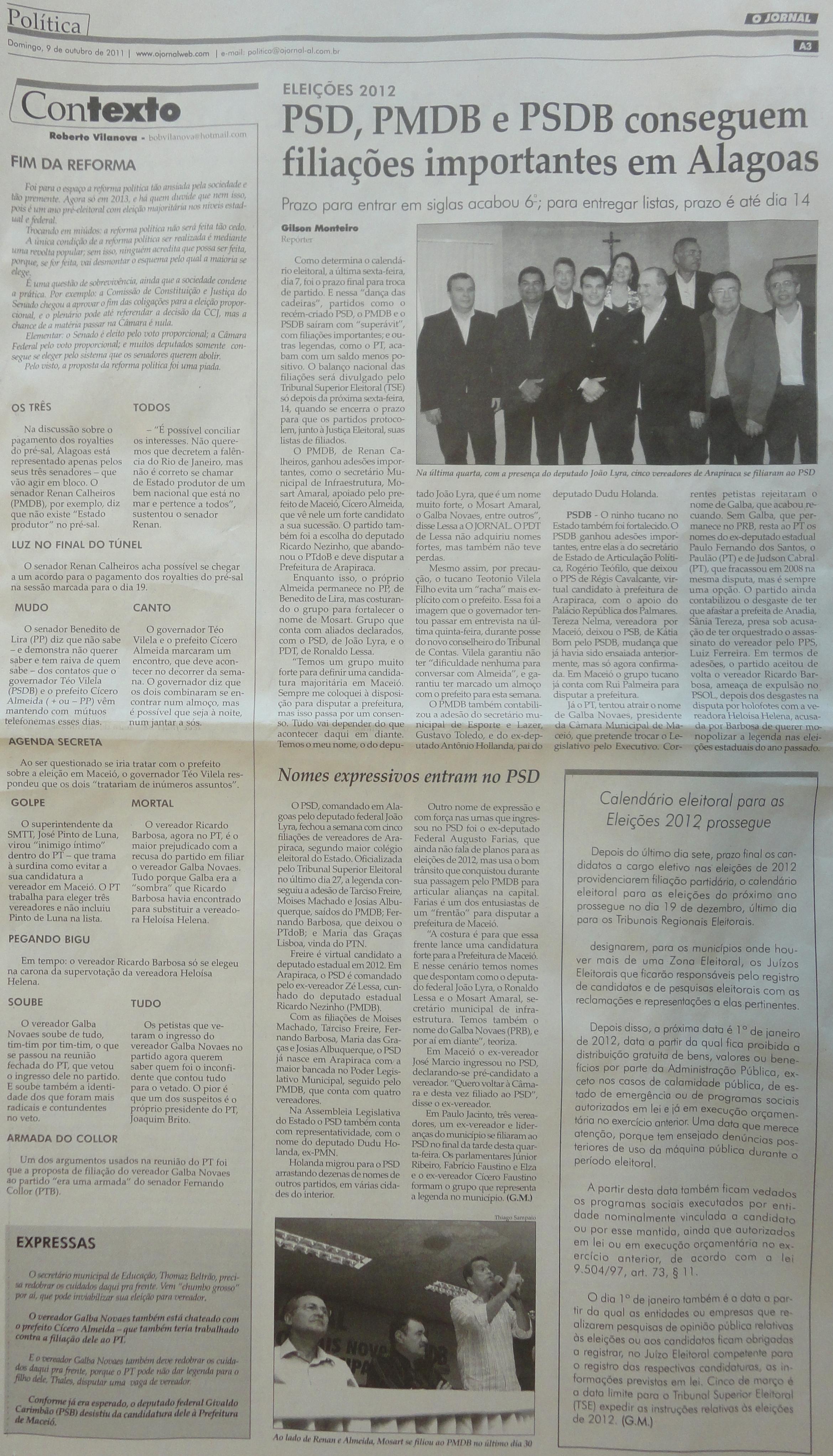 O Jornal 09-10-11
