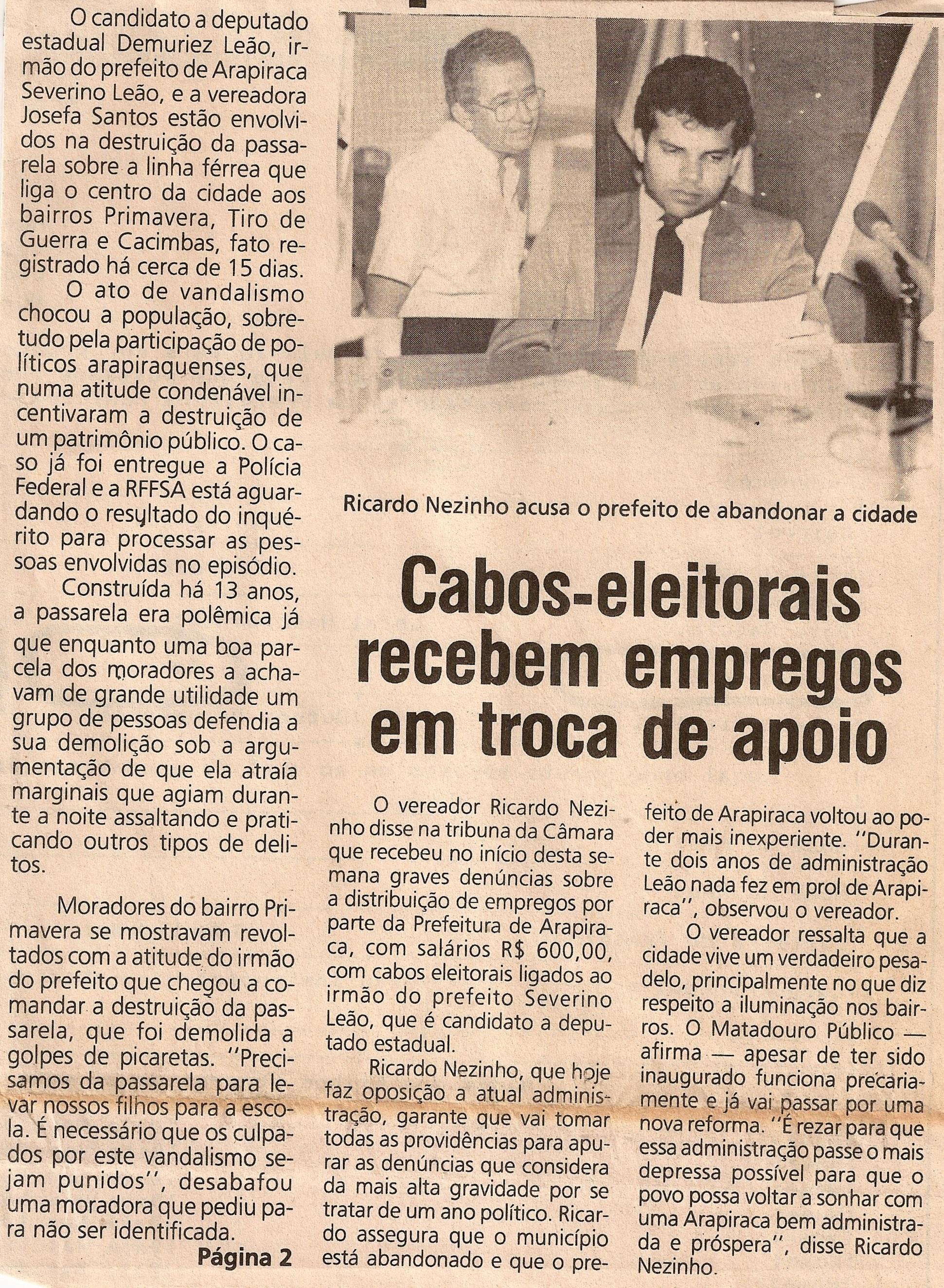 Tribuna Livre- 03-05-93