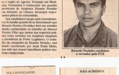 Candidatura de Ricardo Nezinho ganha as ruas
