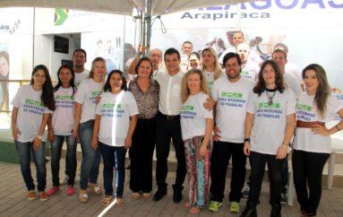 Café da manhã abre programação da Festa do Trabalhador de Arapiraca