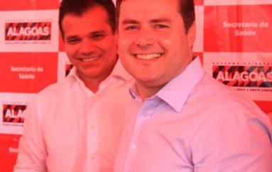 Governador vem a Arapiraca e confirma apoio a Ricardo Nezinho e Yale Fernandes