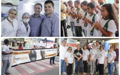 """""""Prefeitura Com o Povo"""" leva ações sociais para o Centro de Arapiraca"""