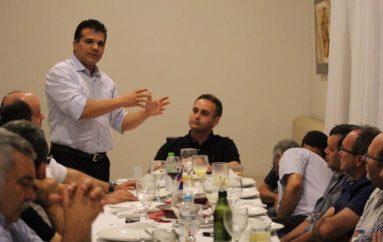 Empresários de Arapiraca tem encontro com Ricardo Nezinho