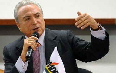 Michel Temer vem a Arapiraca prestar apoio a Nezinho e Yale