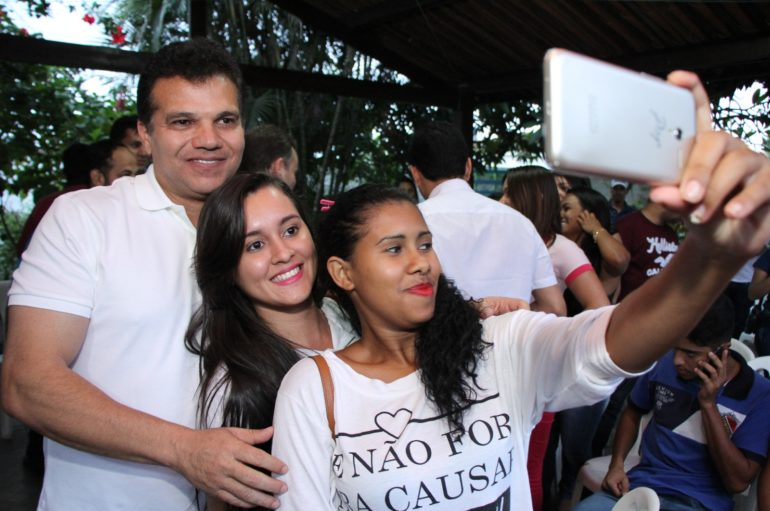 Nezinho destaca participação da juventude no processo eleitoral