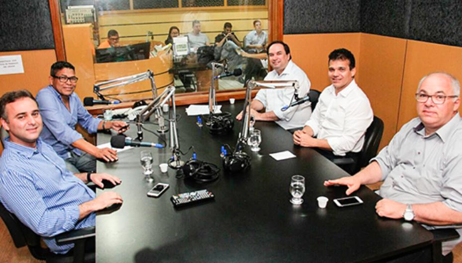 Entrevista na rádio Novo Nordeste de Arapiraca