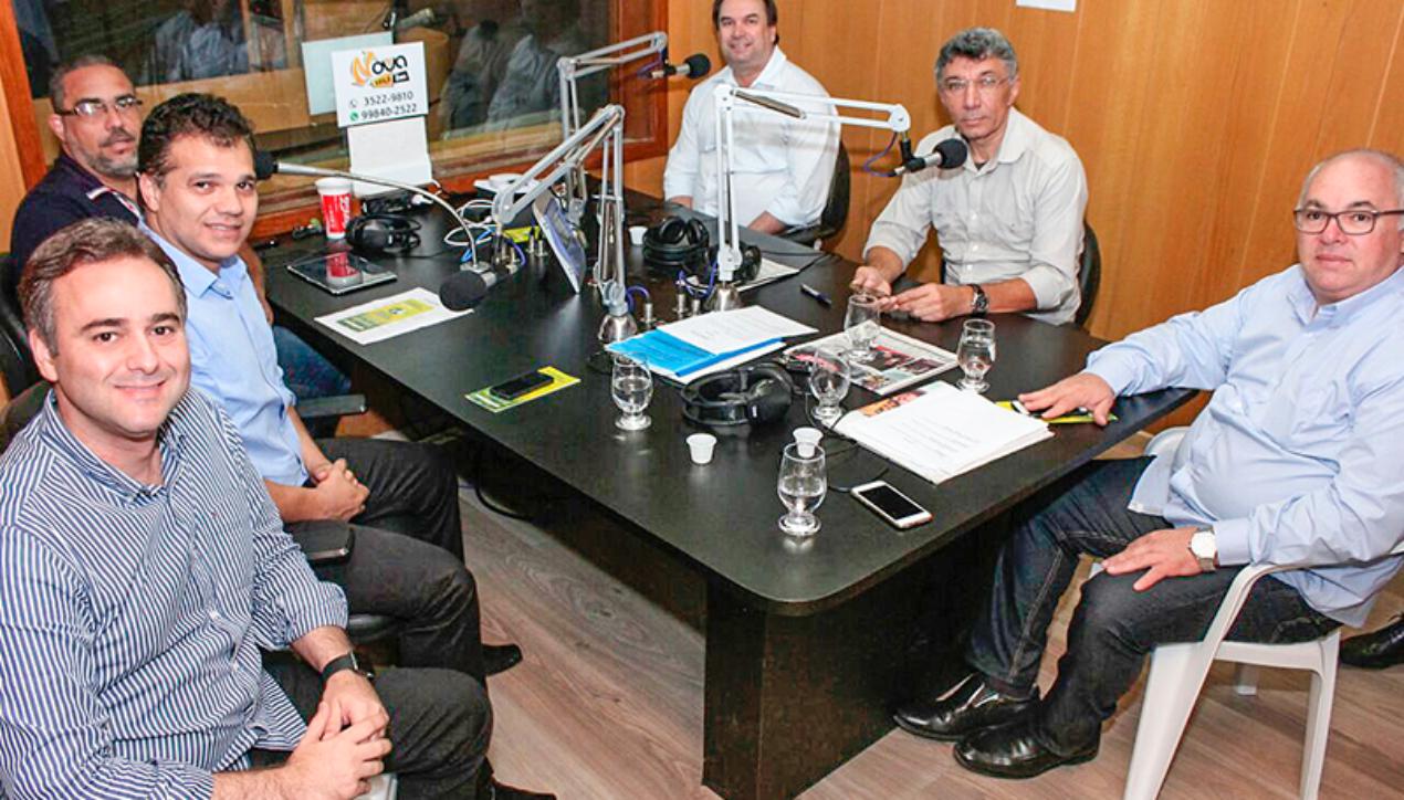Entrevista na Rádio Novo FM 103,3