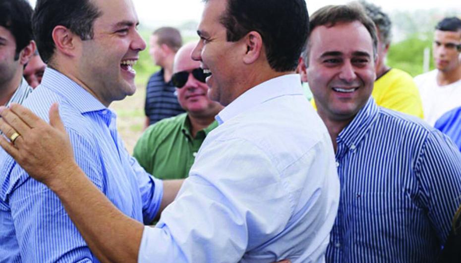 Renan reafirma apoio à pré-candidatura de Ricardo Nezinho e Yale Fernandes