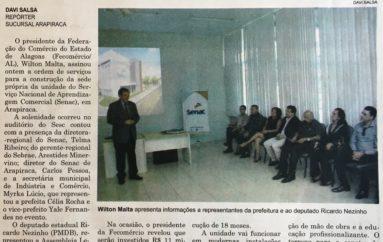 SENAC investe R$ 11 milhões em Arapiraca