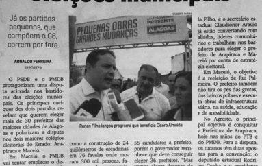 PMDB e PSDB polarizam eleições municipais