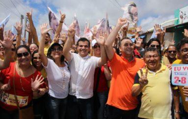 Agenda do candidato a prefeito Ricardo Nezinho