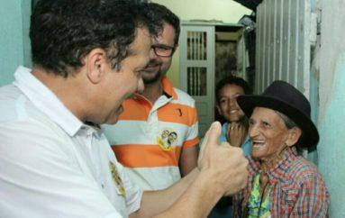 Caminhadas mostram popularidade de Ricardo Nezinho