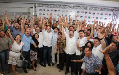 Com Renan e Luciano, PMDB confirma Ricardo candidato a prefeito de Arapiraca