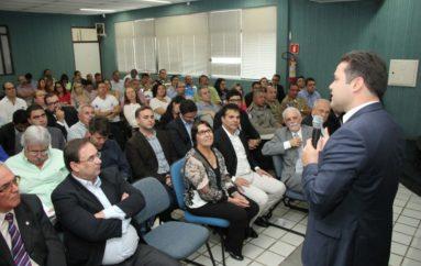 Renan Filho reafirma compromisso com Arapiraca, anuncia videomonitoramento e IC