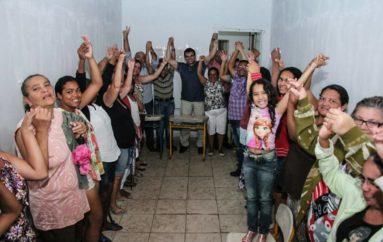 Visita ao bairro Padre Antônio Lima Neto