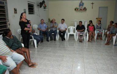 Visita aos moradores da comunidade rural Ingazeira.