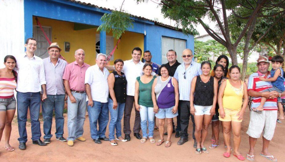 Visita comunidade Lagoa do Mato.