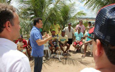 Ricardo Nezinho apoia criação de colônia de pescadores no entorno do Lago Perucaba