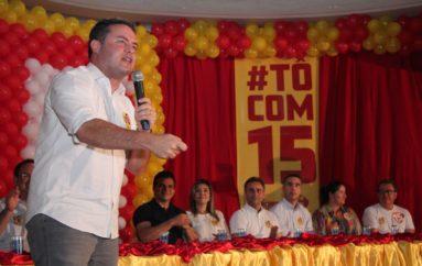 Governador Renan diz que o povo de Arapiraca está com Nezinho