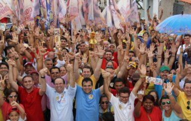 Caravana de Ricardo Nezinho é recebida com festa na Brasiliana