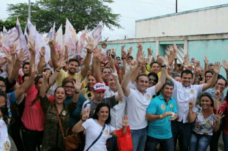 Ricardo Nezinho tem aceitação do eleitorado através de caminhadas