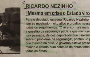 """""""Mesmo em crise o Estado virou um canteiro de obras"""""""
