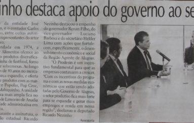 Ricardo Nezinho destaca apoio do Governo para setor produtivo