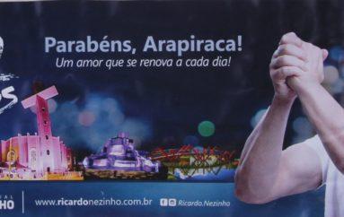 EMANCIPAÇÃO DE ARAPIRACA – 92 ANOS – RICARDO NEZINHO