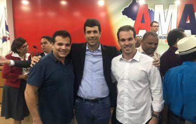 Ricardo Nezinho parabeniza Wanderley e destaca união dos prefeitos