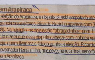 Briga boa em Arapiraca