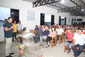 inauguração da sede própria da Comunidade Gênesis
