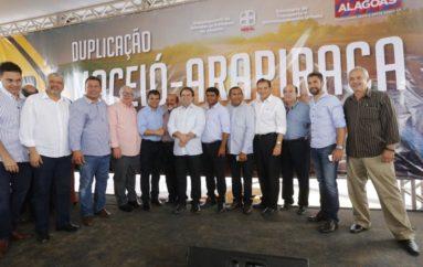 De Maceió até Arapiraca- ao lado de Luciano e Renan, deputado Nezinho destaca mais avanços