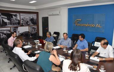 Sistema Fecomércio recebe visita do deputado Ricardo Nezinho