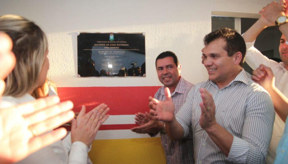 Deputado Ricardo Nezinho participa de inaugurações na festa dos 35 anos de Craíbas