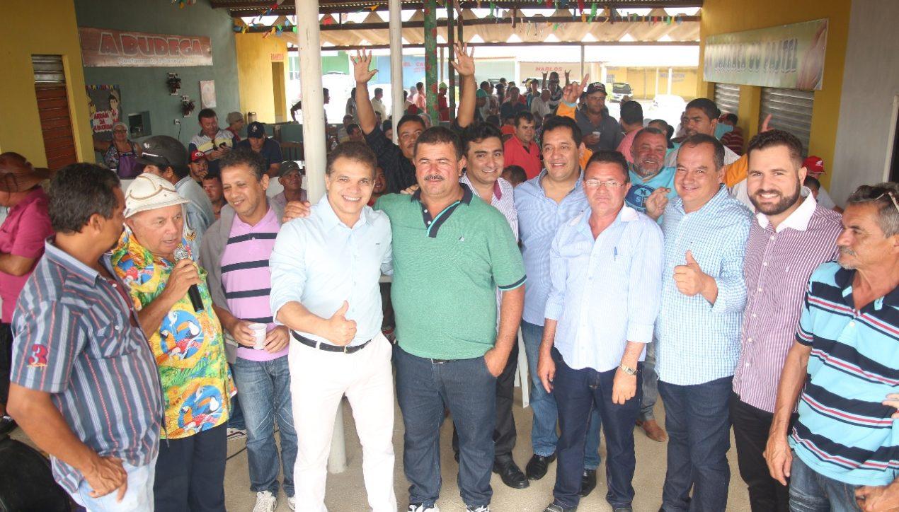 Ricardo Nezinho prestigia posse da diretoria da Associação dos Corretores de Veículos