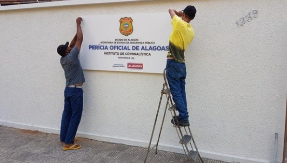 Cobrando definição da prefeiturapara instalação do Instituto de Criminalística em Arapiraca