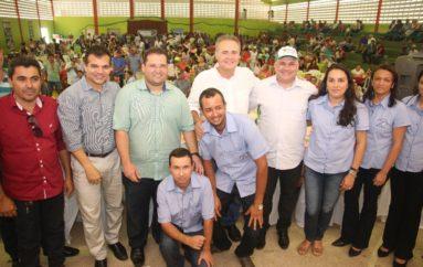 Renan Calheiros e Ricardo Nezinho destacam a importância do agricultor em alagoas