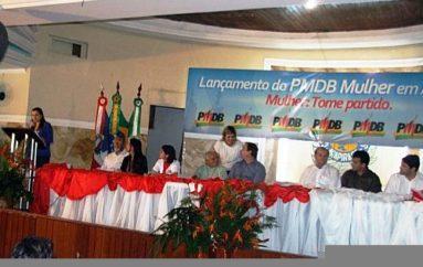 PMDB lança núcleo feminino em Arapiraca