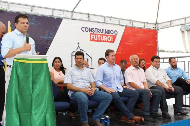 Ricardo Nezinho comemora inauguração da agência do INSS em Cacimbinhas