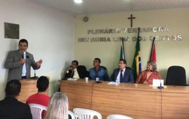 Ricardo Nezinho prestigia os 55 anos de emancipação política de Coqueiro Seco