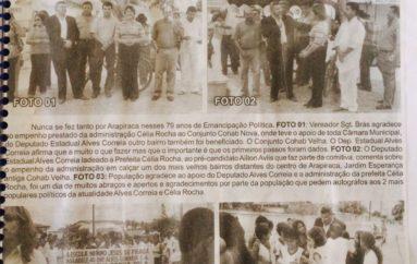 Inauguração marcam os 79 anos de emancipação política de Arapiraca
