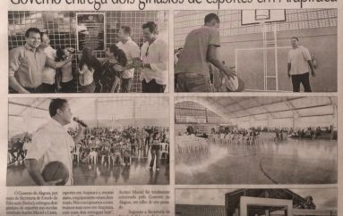 Governo entrega dois ginásios de esportes em Arapiraca