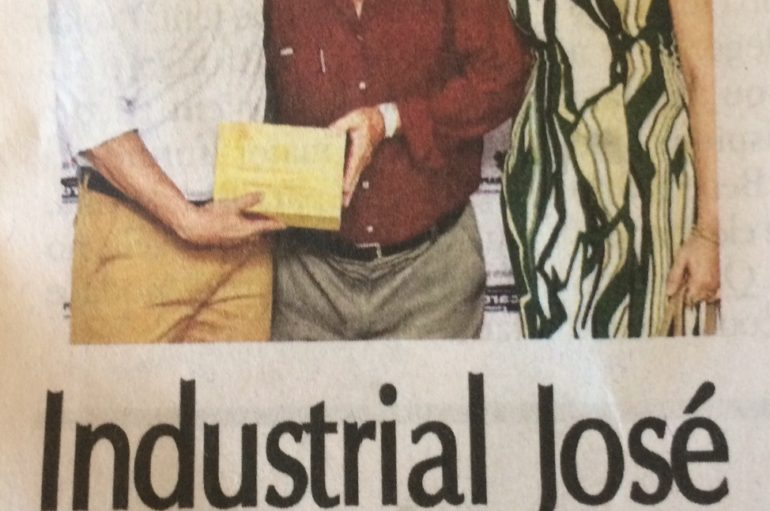 Industrial José Alexandre é homenageado