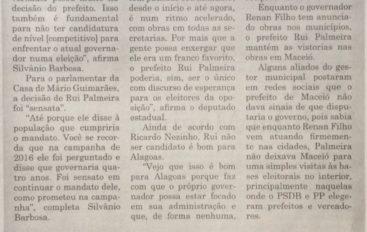 Parlamentares notam Renan Filho com reeleição mais fácil