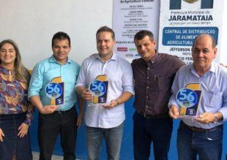 Ricardo Nezinho participa ao lado de Renan Filho, de solenidade dos 56 anos de emancipação política de Jaramataia
