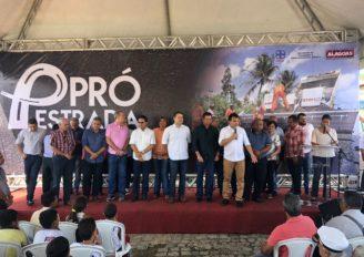 Ricardo Nezinho enaltece investimentos do Governo de Alagoas em Coqueiro Seco