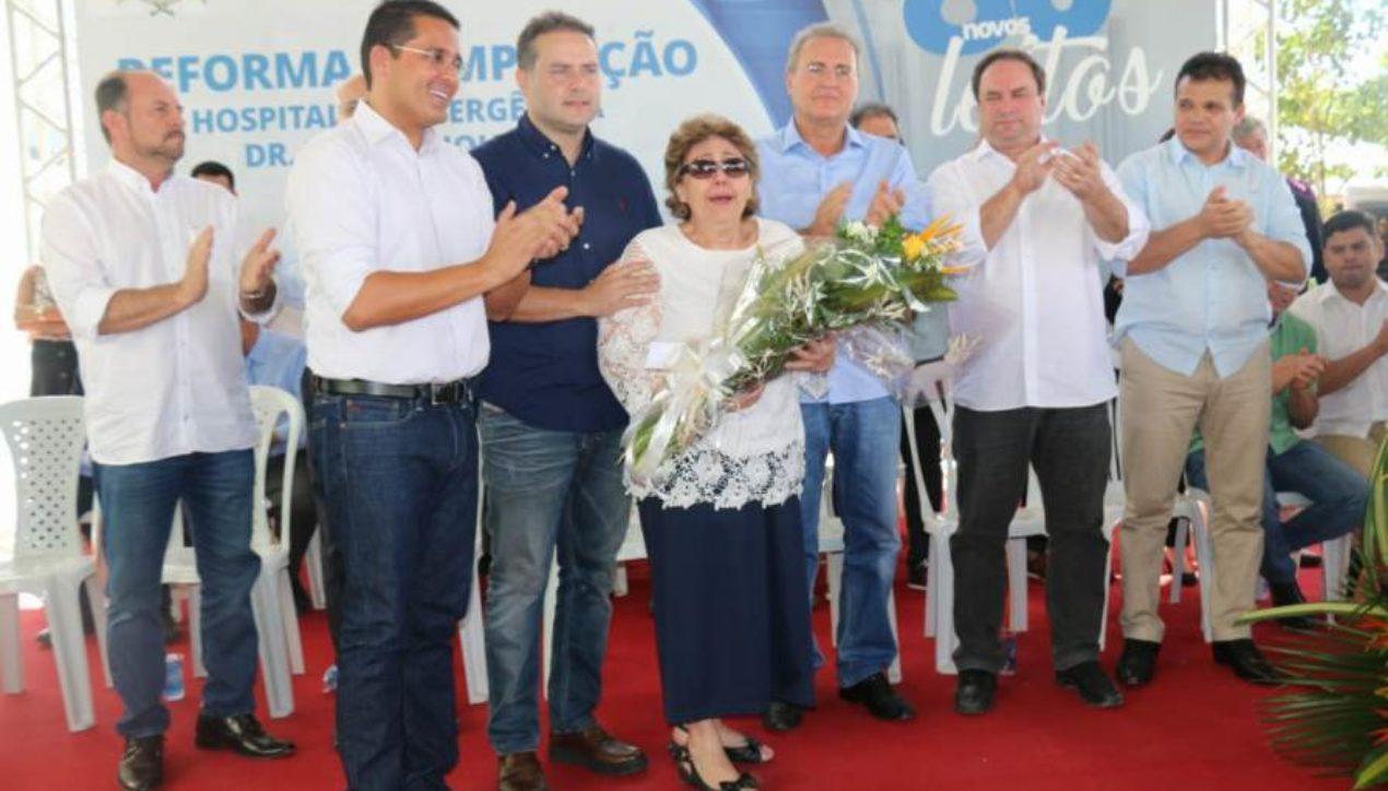 Ricardo Nezinho parabeniza Renan Filho pela entrega de mais 80 leitos no HE do Agreste